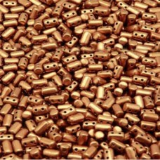 Rulla Beads Vintage Copper 3x5mm 17g approx.