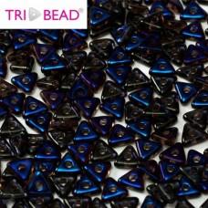Bulk Bag Tri-bead 4 mm Amethyst Azuro - 50g approx.