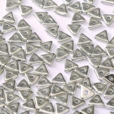 Tri-bead 4 mm Crystal Labrador Full - 3g approx.