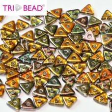 Tri-bead 4 mm Magic Copper - 3g approx.