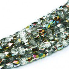 Crystal Vitrail 2mm Firepolished Beads 150pcs