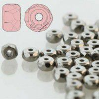 Faceted Micro Spacer Czech Beads