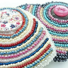 Bust Your Stash with Bead Embroidery!