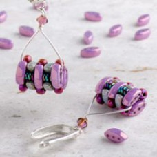 Cali Column Beaded Beads - A Free Pattern by Fiona Scott