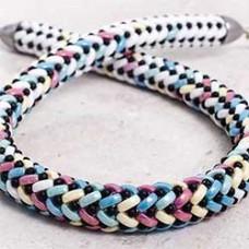 Cali Bead Herringbone Necklace, designed by Renata Patek Robinson