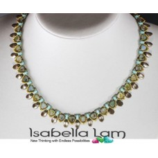 Project - Lily Necklace - A Free Pattern by Isabella Lam