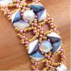 Echoes of Etre Bracelet - A Free Pattern by Norma Jean Dell