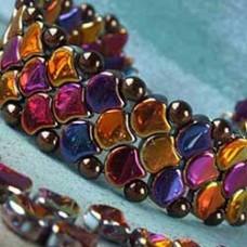 Gingko Snake Skin Bracelet, designed by Nela Kábelová