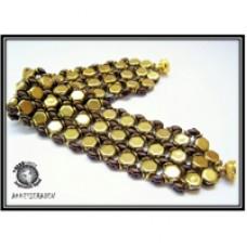 Honeycomb Beezzzz Bracelet - A Free Pattern from Akke Jonkhof