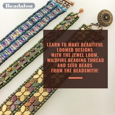 Weaving on the Jewel Loom with Leslie Rogalski