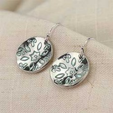 Petal to the Metal Earrings - A Free Pattern From Impress Art