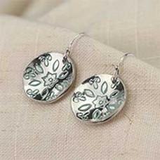Petal to the Metal Earrings - A Free Pattern From Impress Art