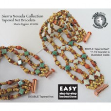 Silky Sierra Nevada Bracelet - a Free Pattern by Maria Rypan