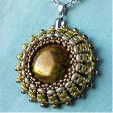 Sunny Pendant, A Free Pattern by Nela Kabelova