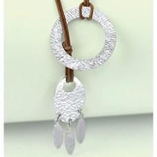 Impress Art Textured Necklace Tutorial