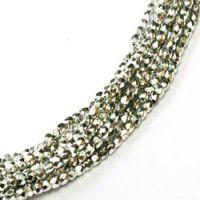 2mm 'True 2' Fire Polished Glass Czech Beads