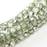 6mm Fire Polished Glass Czech Beads