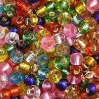 Size 6/0 Seed Czech Beads