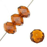 Rich Cut Glass Crystals Beads