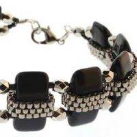 Czech Glass Carrier Beads