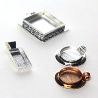 Jewellery Bezels for use with Clay or reson