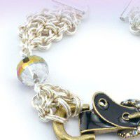 Patterned Chain Maille Rings