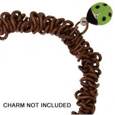 Elasticated Chain Link Bracelet  18cm Copper w/Jump Ring