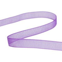 Beadalon Purple Organza Ribbon, 15 Metres