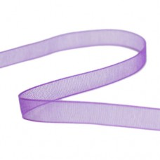 Beadalon Purple Organza Ribbon, 15 Metres