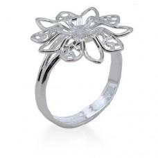 Beadalon Ring Blanks, Floral Design, 3 Pcs