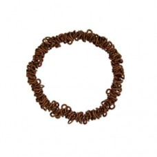Elasticated Sweetie Charm Bracelet, Antique Copper