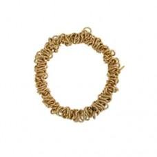 Elasticated Sweetie Charm Bracelet, Gold