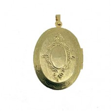 Large Gold Lockets, Pack of 10