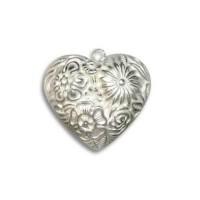Metal Heart Charms