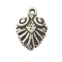 Feathers & Filigree Metal Charms