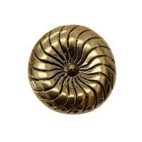 Gold Detailed Pendant, 38mm