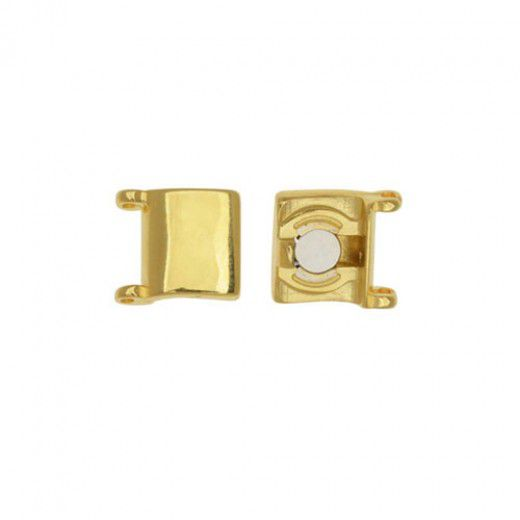 Axos II Magnetic Clasp for Delicas - 24K Gold Plate
