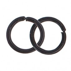 4.5mm Neo Jump Rings, Black, Pack of Approx 100