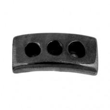 28mm Three Hole Slider Tube, Gunmetal, 1 Pc