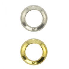 Beadalon Gold Plated Solid Ring, 4 mm pack of 144pcs 314A-167