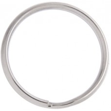 34mm Nickel Colour Split Rings, Pack of 100pcs