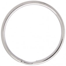 36mm Nickel Colour Split Rings, Pack of 100pcs