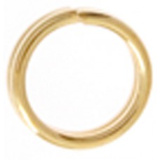 5mm 22ga Gold Colour Split Rings, Pack of 300pcs