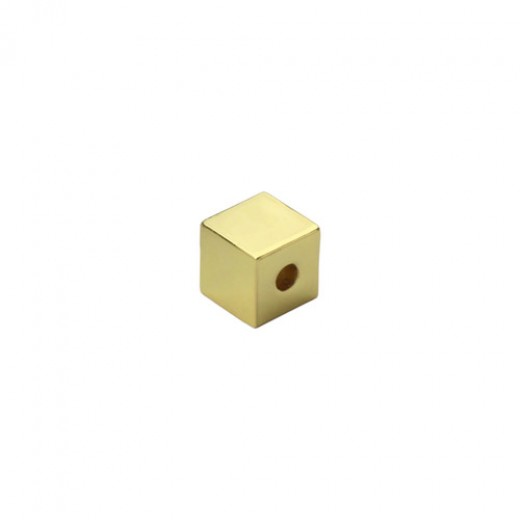 Gold Plated Small Cube, 3/8""