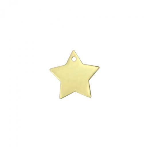 """Gold Plated Star, 1"""""""