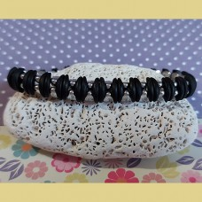 Bracelet SO Cute Bead Bundle - Jet and Silver