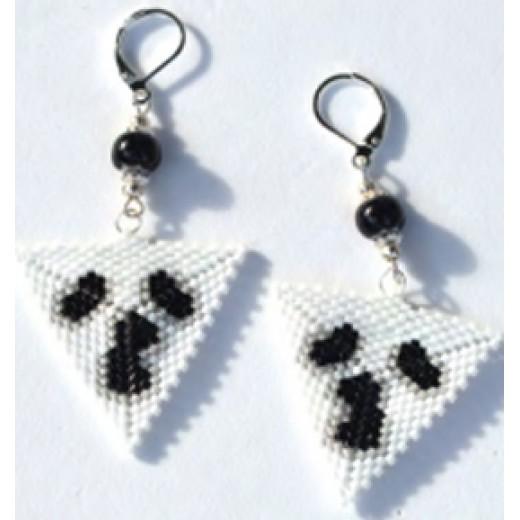 Ghost Earring Bundle, designed by Debra Schwartz for John Bead