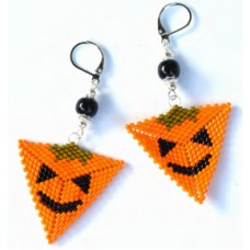 Pumpkin Earring Bundle, designed by Debra Schwartz for John Bead
