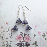 Quick Kits - Bell Flower Drop Earrings Kit - Montana