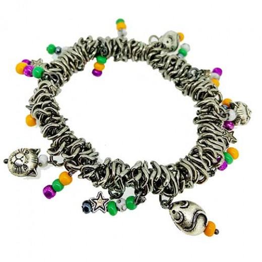 Quick Kits - Halloween Cat & Mouse Stretchy Bracelet Kit